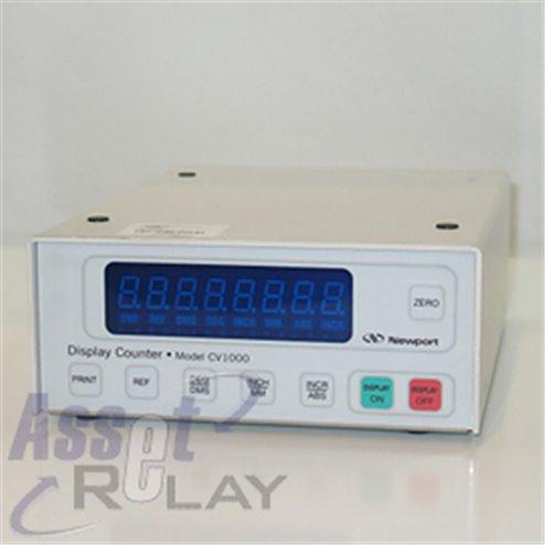 Newport CV100 SI Port Display Counter