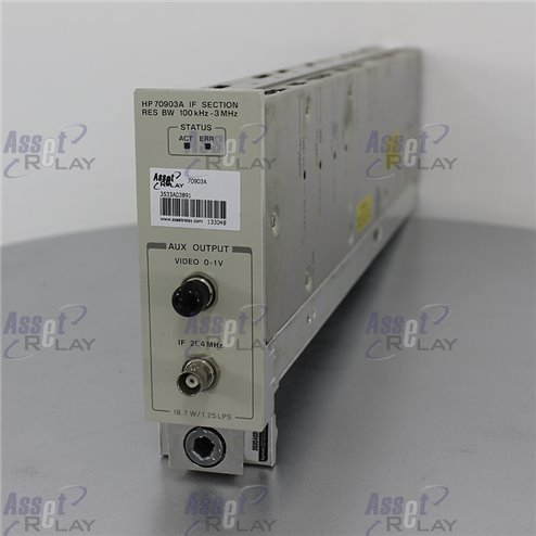 HP 70903A IF Section Module 100KHz/3MHz
