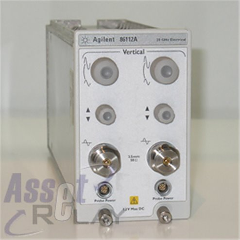 Agilent 86112A Dual Electrical Channel