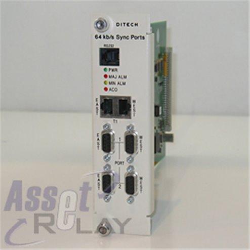 Ditech 64 Kb/s Sync Port