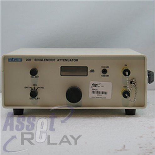 Intelco 200 9/125um  Opt. Attenuator