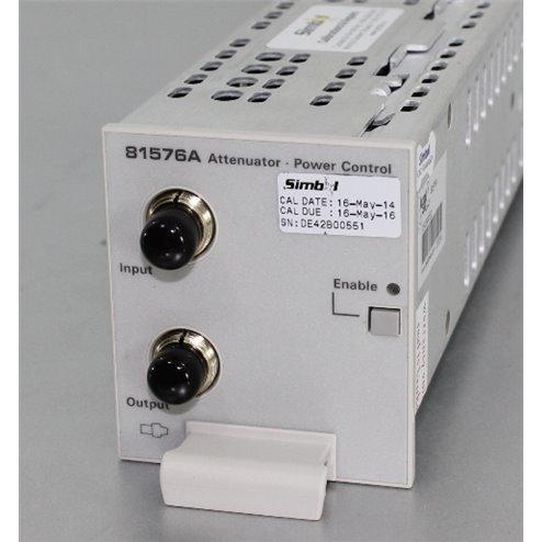 Agilent 81576A Optical Attenuator (iVOA)