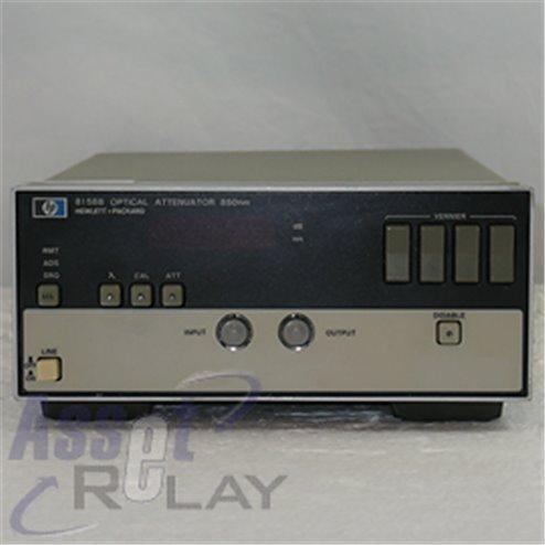 HP 8158B Opt 001 Optical Attenuator