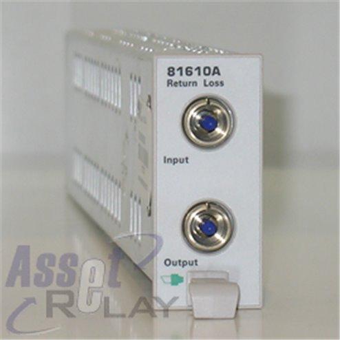 Agilent 81610A Optical Return Loss Meter