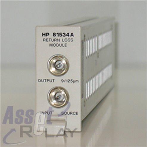 HP 81534A Optical Return Loss module