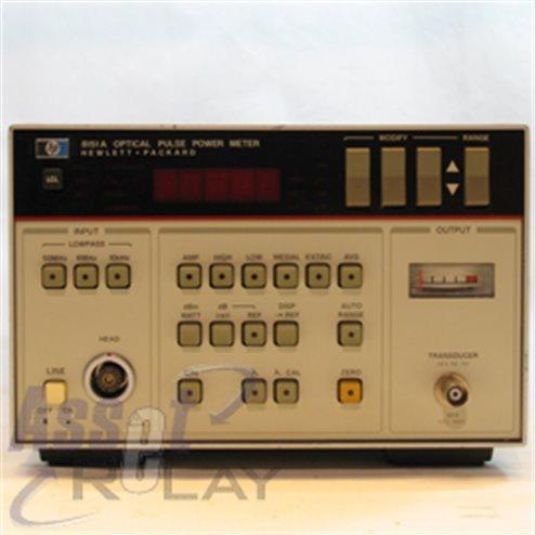 HP 8151A Optical Pulse Power Meter