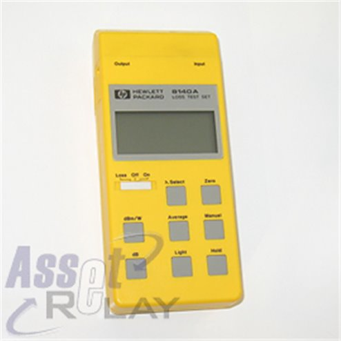 HP 8140A Handheld Loss Test Set