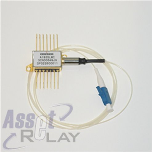 Alcatel Laser 10dBm, 1560.606nm PM Fiber