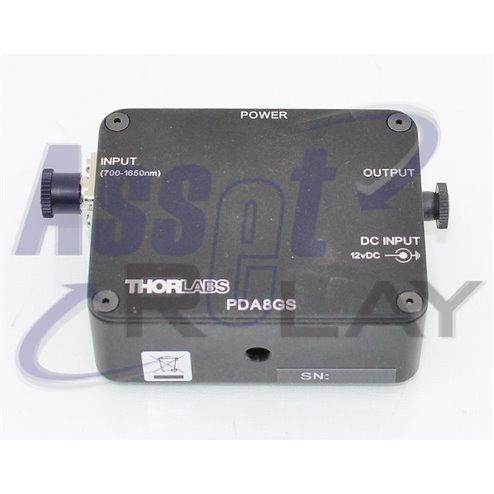 Thorlabs PDA8GS InGaAs fixGain Amp det.